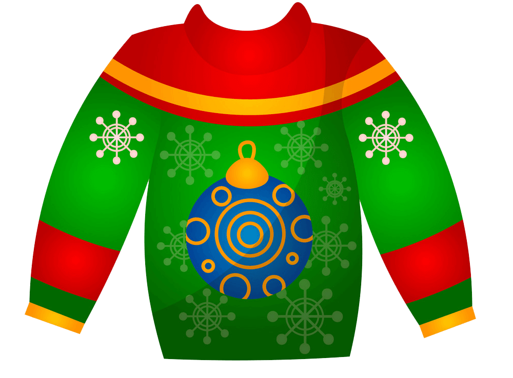 Nice Christmas Sweater clipart transparent