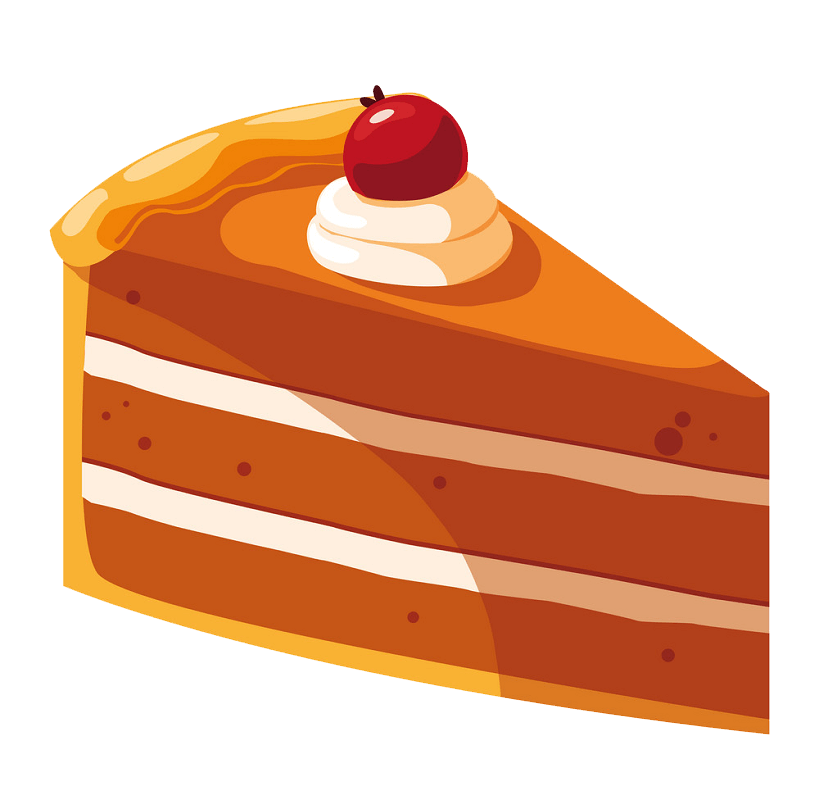 Piece Cake clipart transparent