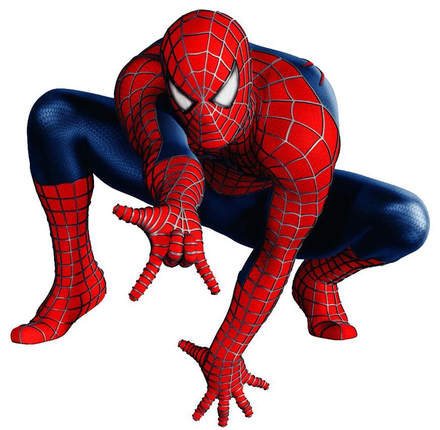 Realistic Spiderman clipart