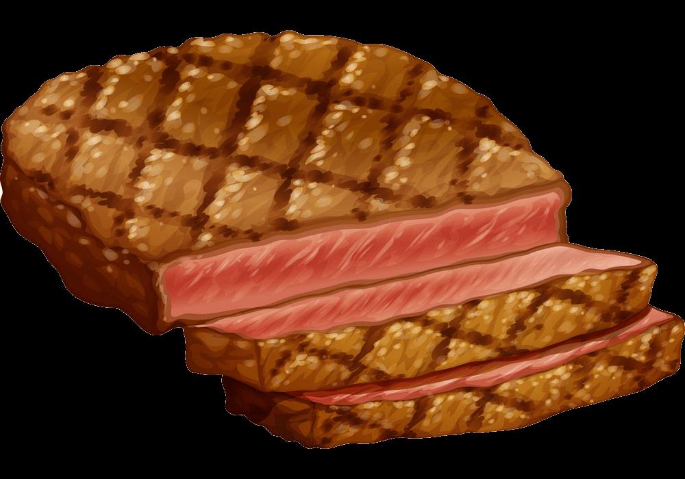 Ribeye Steak clipart transparent