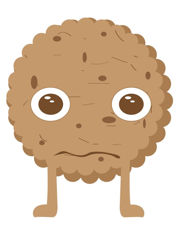 Sad Cookies clipart