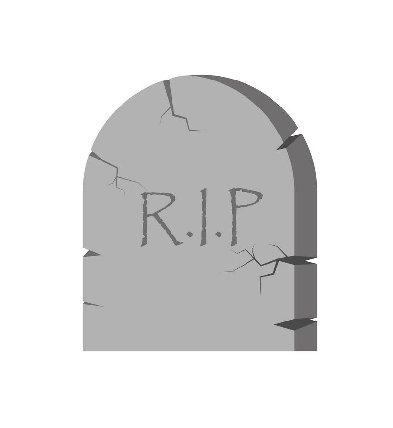 Simple Tombstone clipart