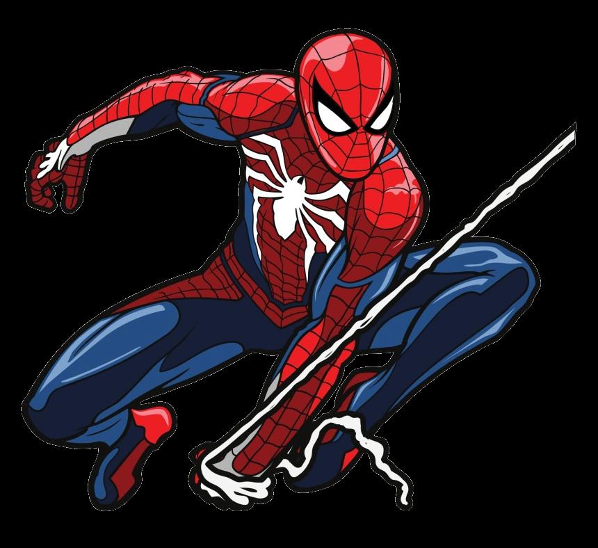 Spiderman clipart tranparent 3