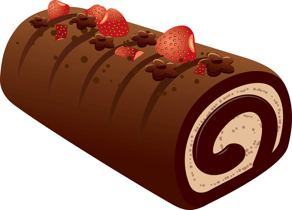 Sweet Chocolate Cake clipart