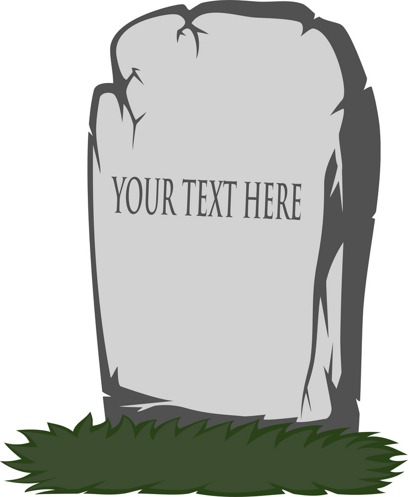 Tombstone clipart 3