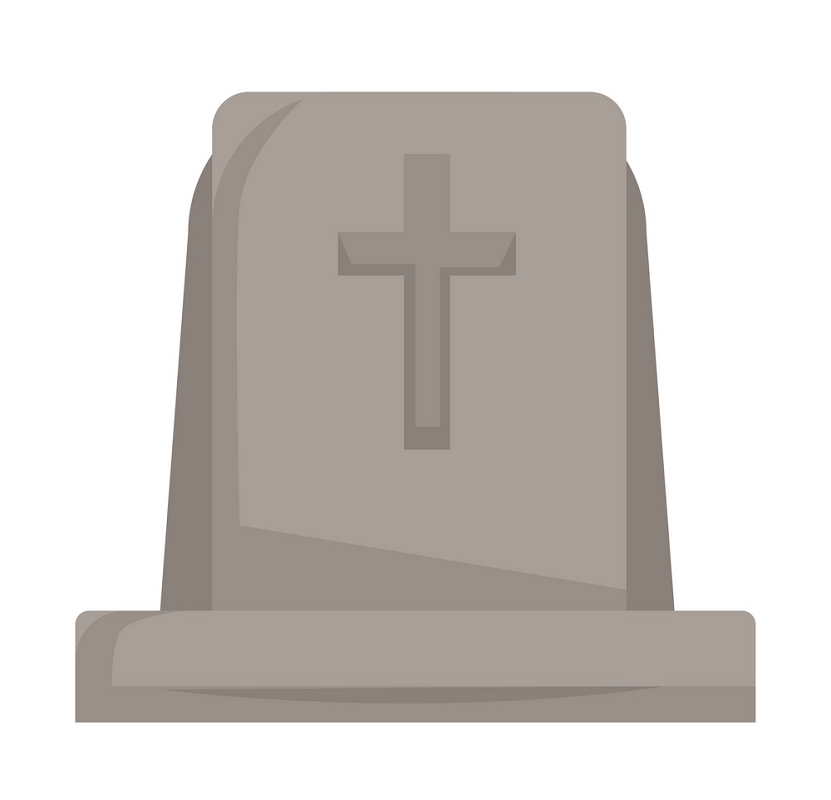 Tombstone clipart 4