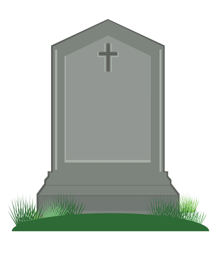 Tombstone clipart 5