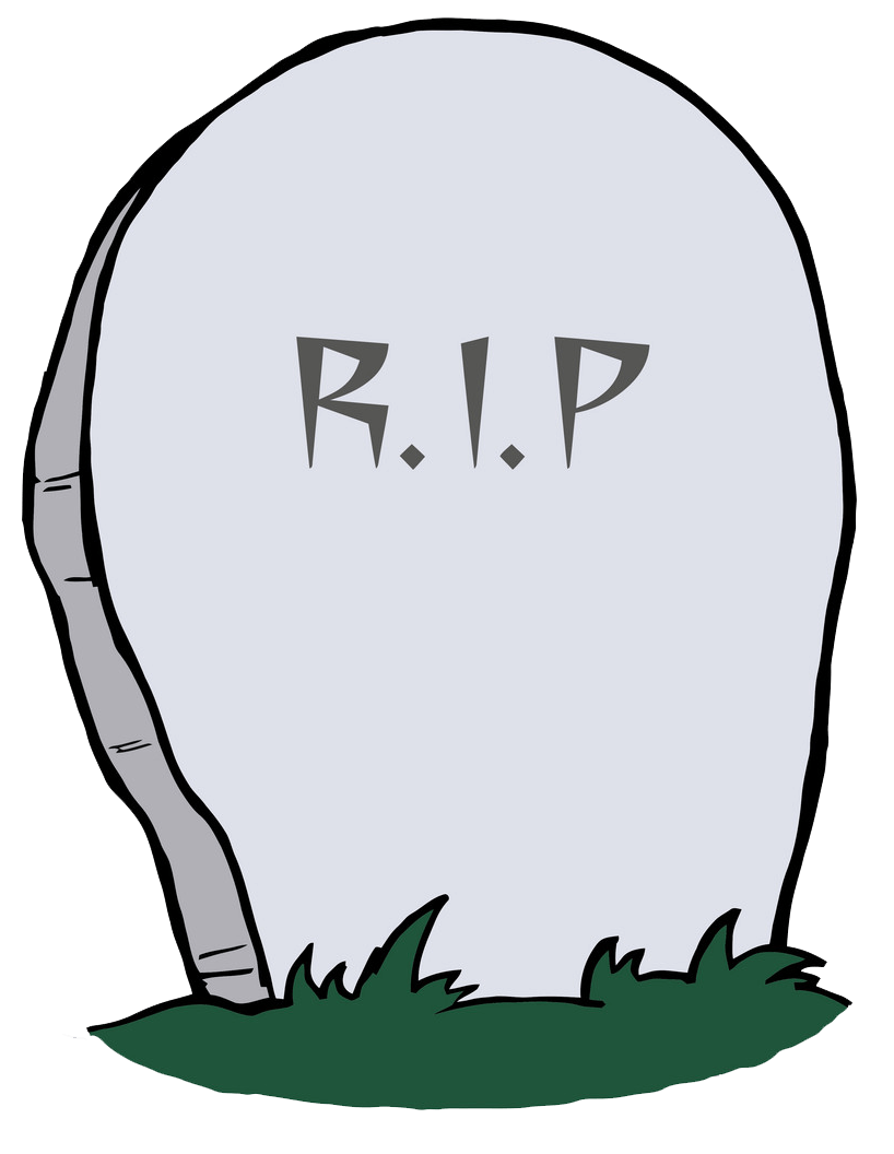 Tombstone clipart transparent 1