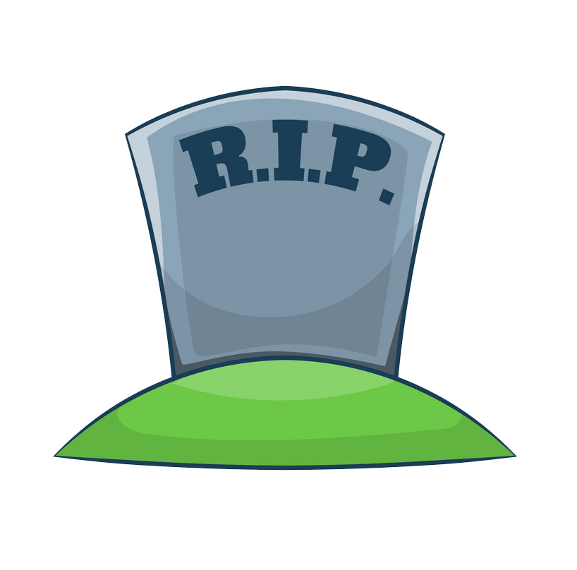 Tombstone clipart transparent 10