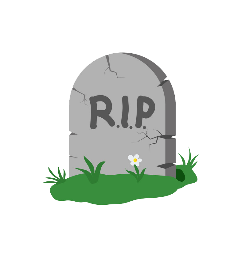 Tombstone clipart transparent 4