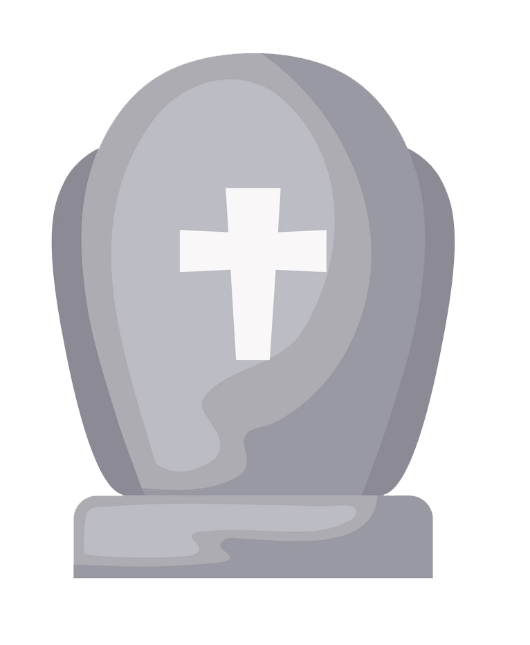 Tombstone clipart transparent 5