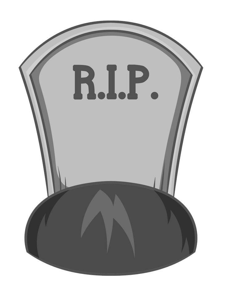 Tombstone clipart transparent 8