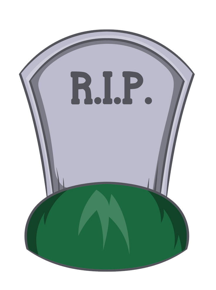 Tombstone clipart transparent 9