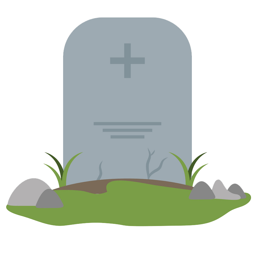 Tombstone clipart transparent