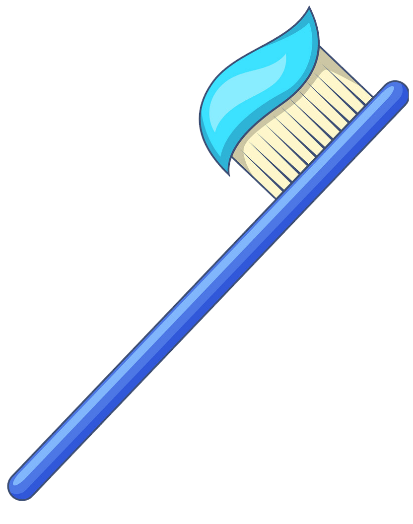 Toothbrush clipart transparent