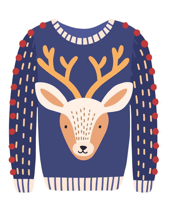 Ugly Christmas Sweater clipart 1