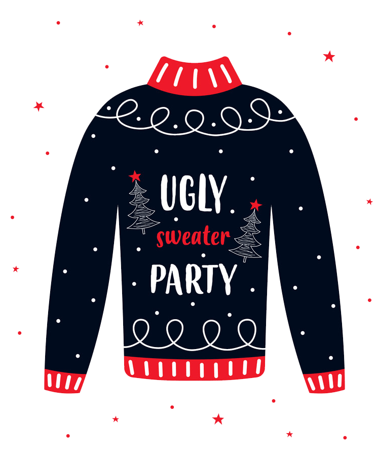 Ugly Christmas Sweater transparent 1