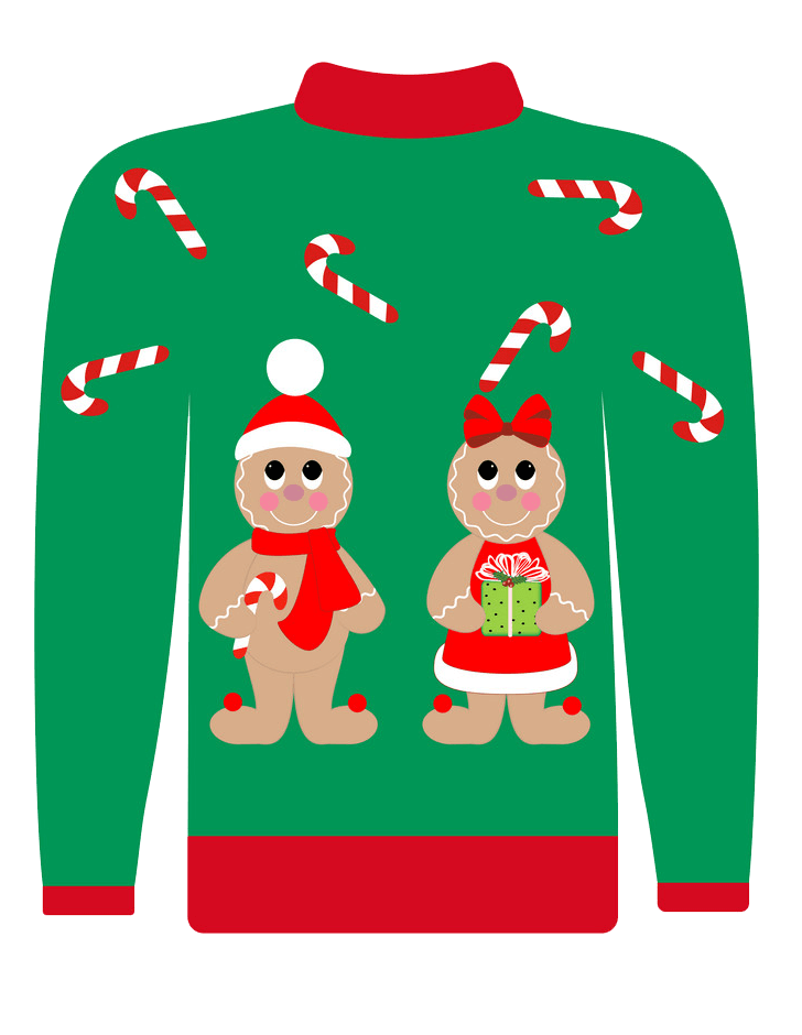 Ugly Christmas Sweater transparent