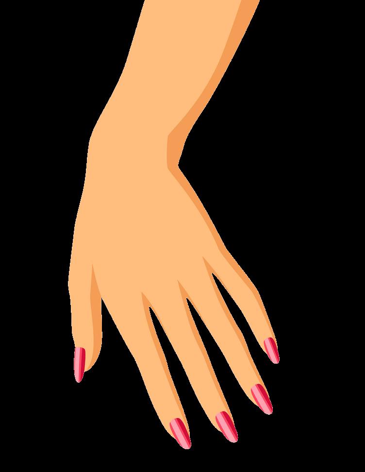 Woman Hand clipart transparent