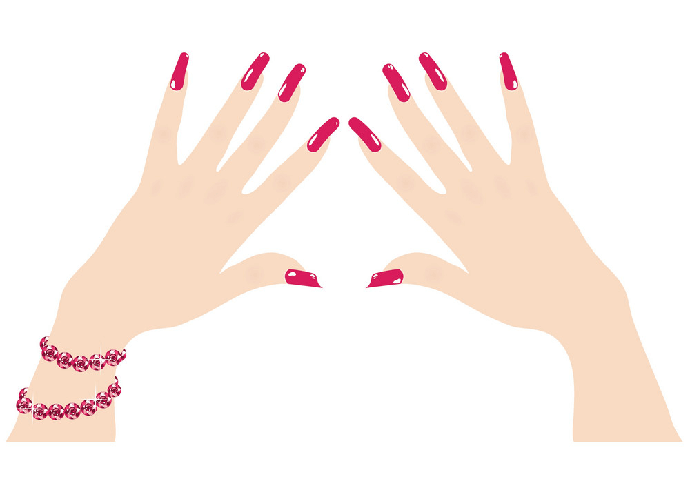 Woman Hands clipart