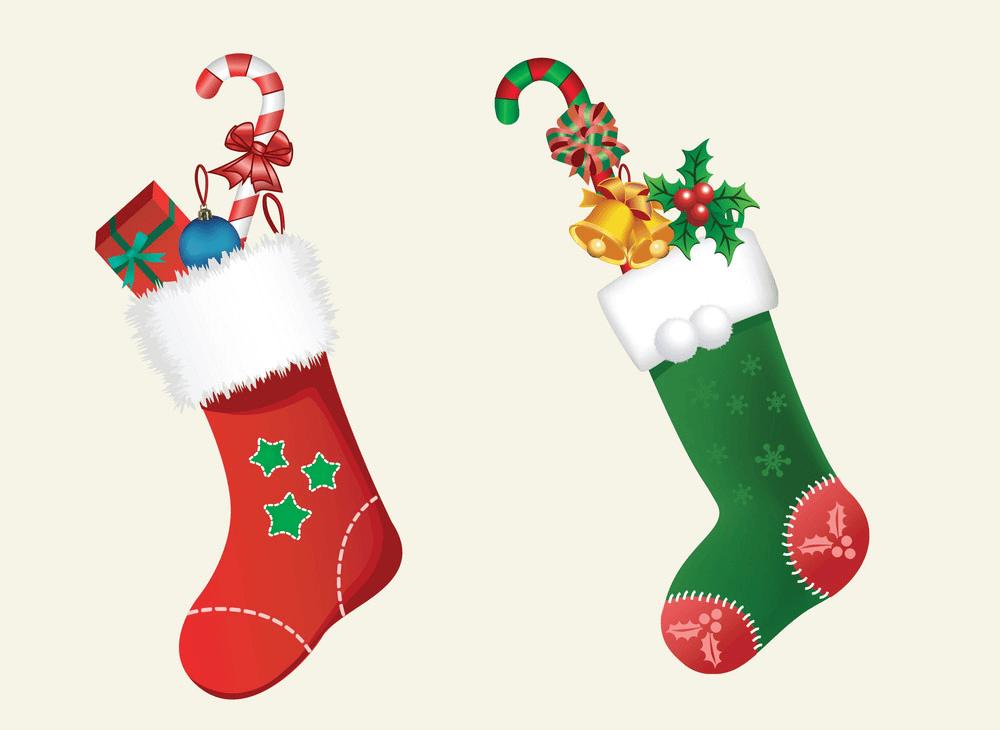 Xmas Stockings clipart