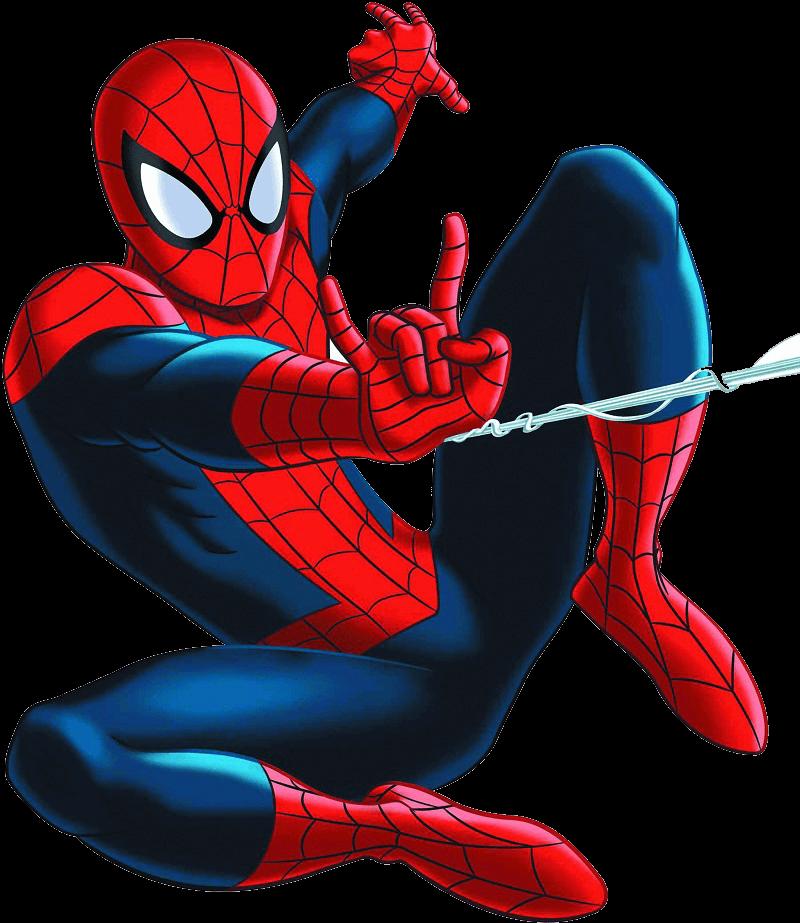 ultimate spiderman clipart tranparent