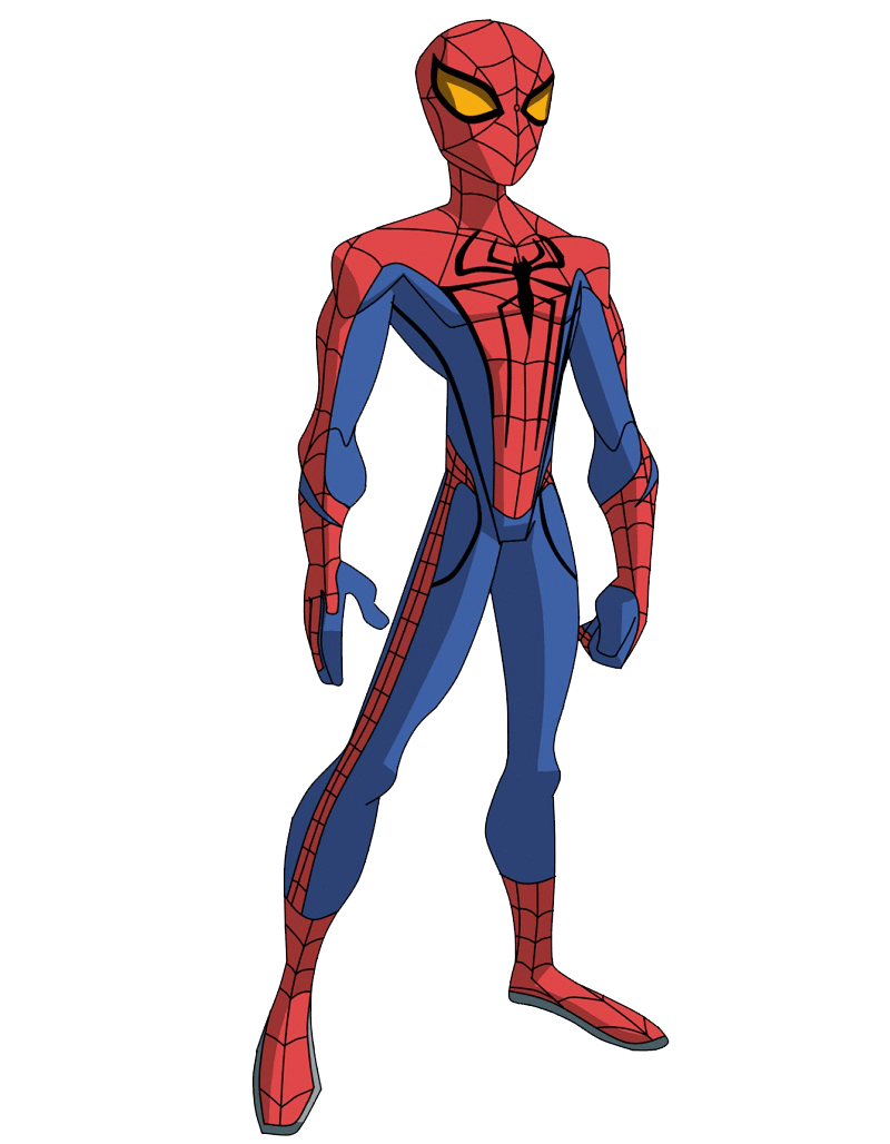 young spiderman clipart tranparent