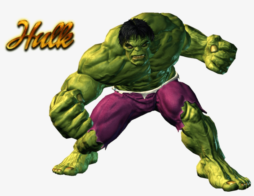 Angry Hulk clipart 2