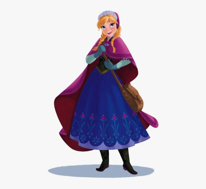 Anna from Frozen clipart