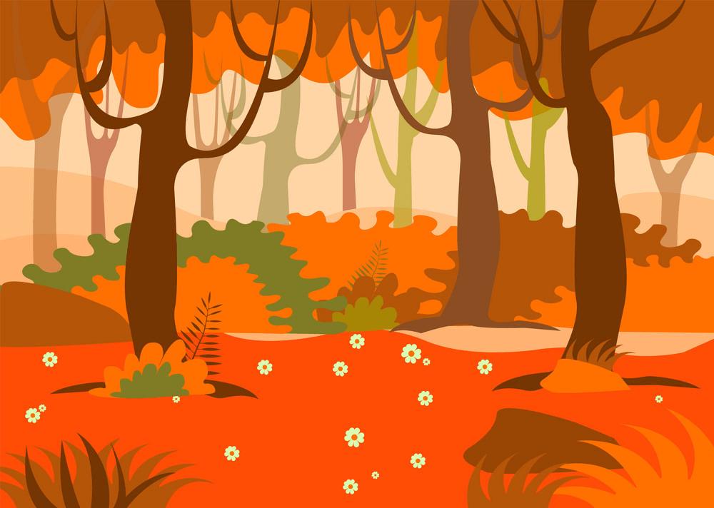Autumn Forest clipart