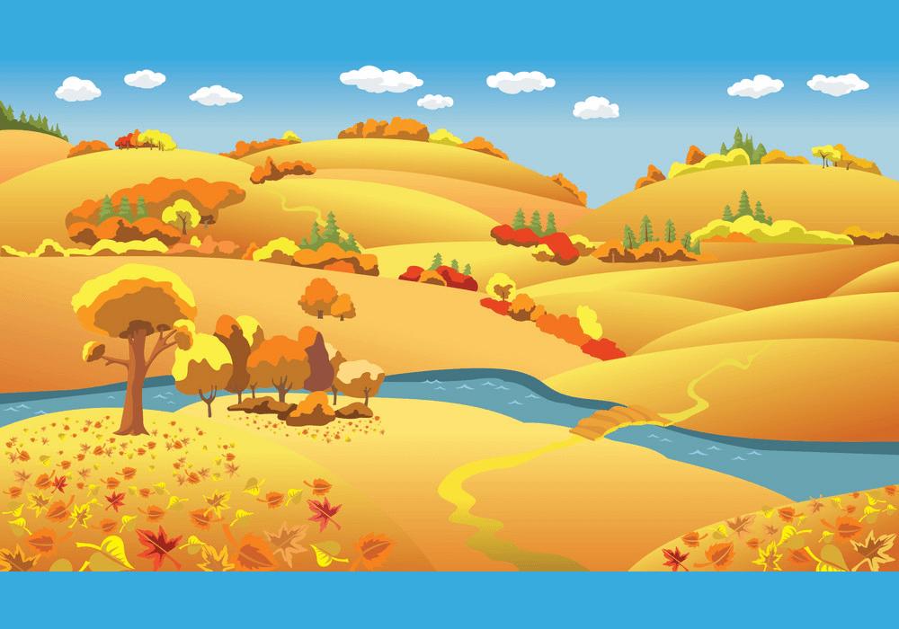Autumn Landscape clipart 2
