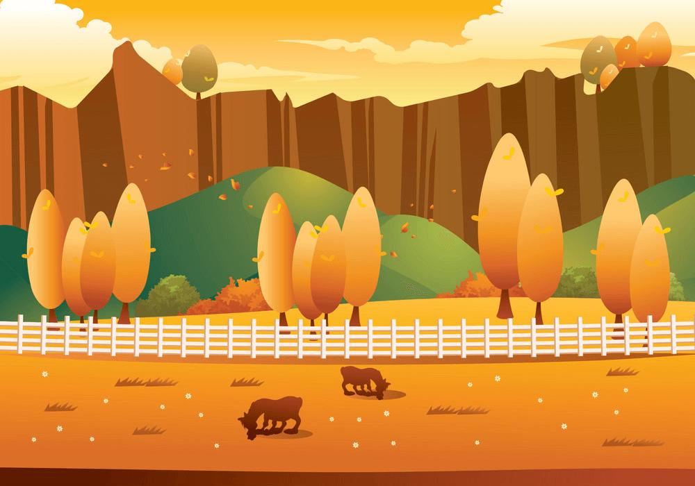 Autumn Landscape clipart