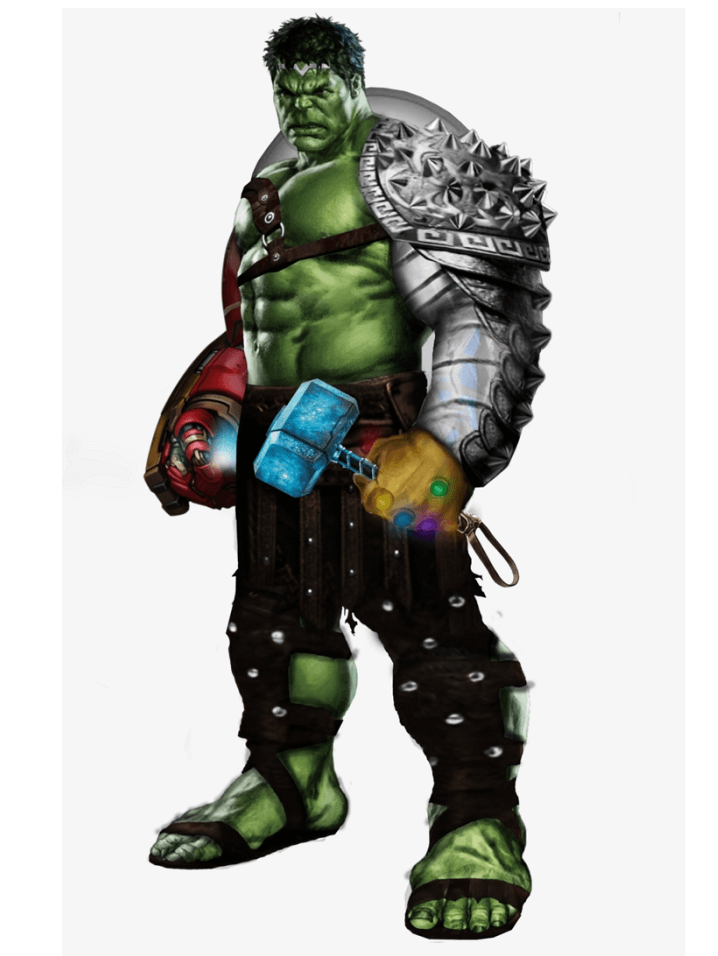 Awesome Hulk clipart