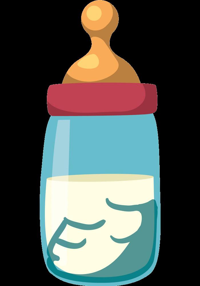 Baby Bottle clipart transparent 2