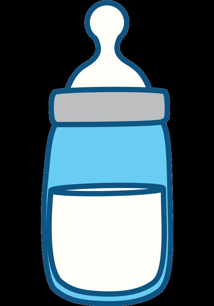 Baby Bottle clipart transparent