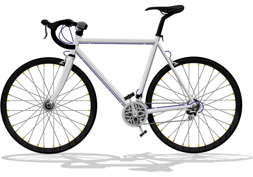 Basic Road Bike clipart