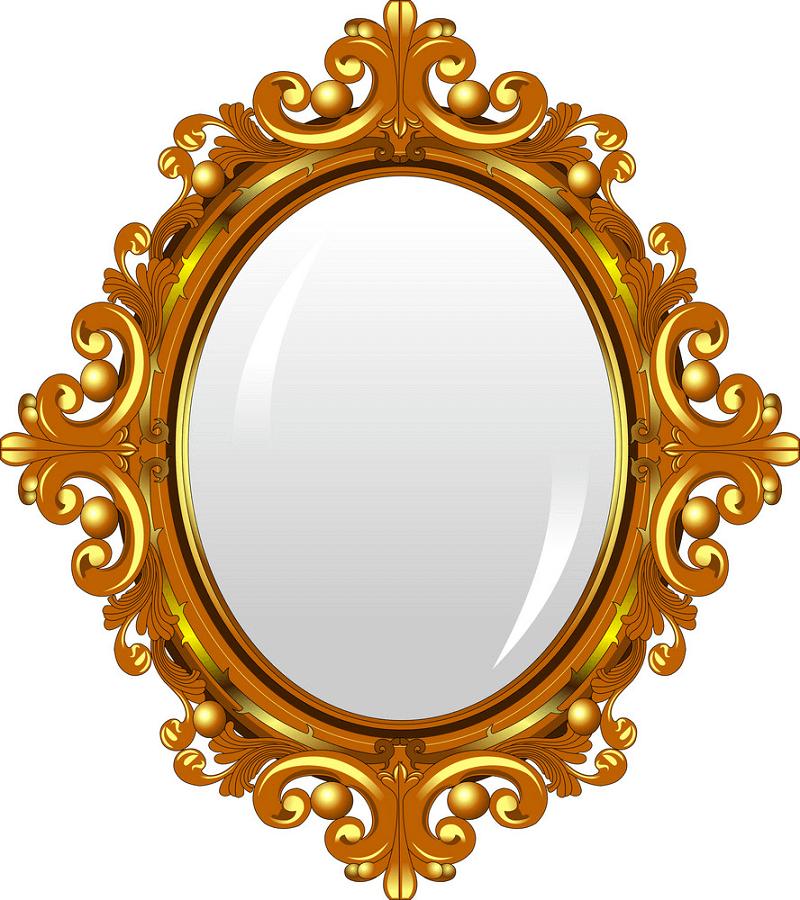 Beautiful Mirror clipart