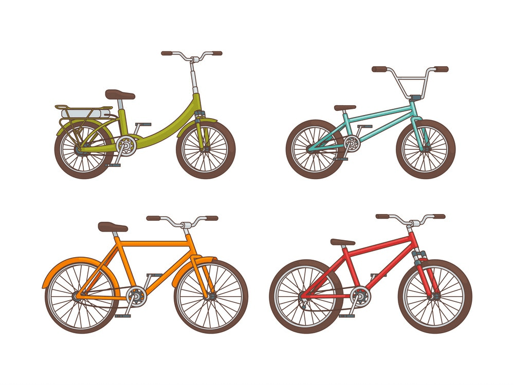 Bike Collection clipart