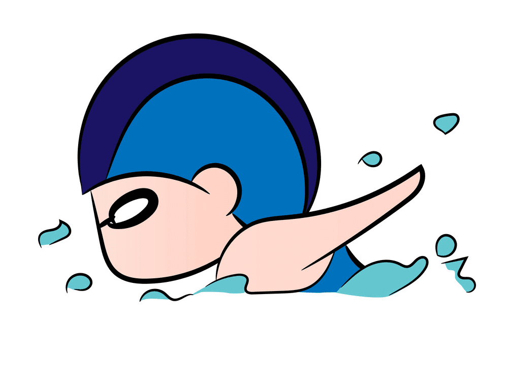 Boy Swimming clipart png images