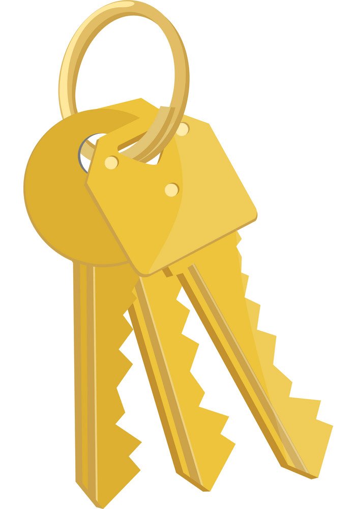 Bunch Keys clipart