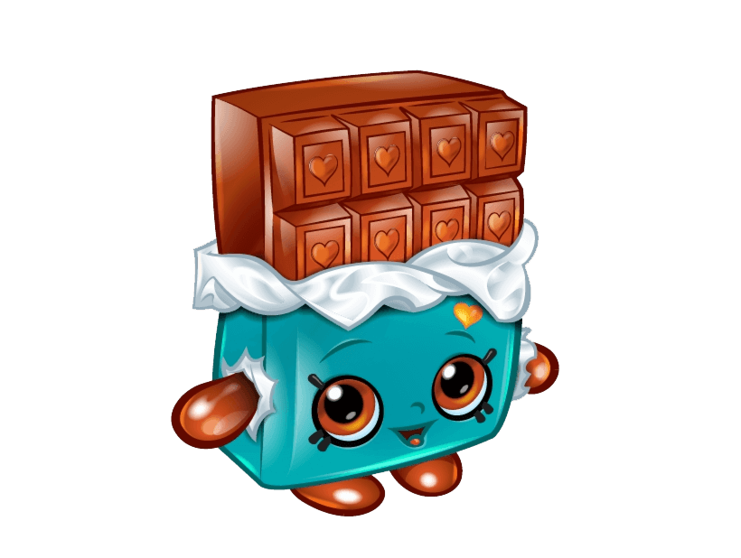 Cheeky Chocolate Shopkins clipart transparent