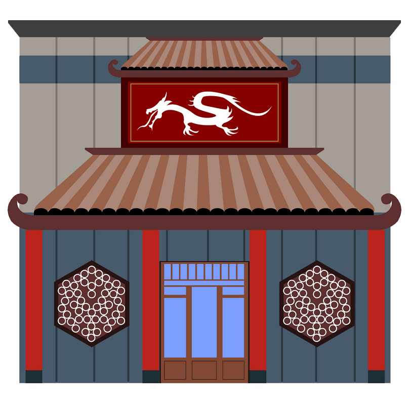 Chinese Restaurant clipart transparent