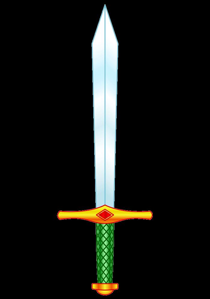 Cold Steel Sword clipart transparent