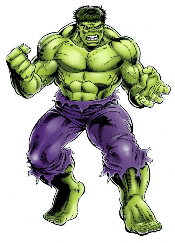 Comic Hulk clipart