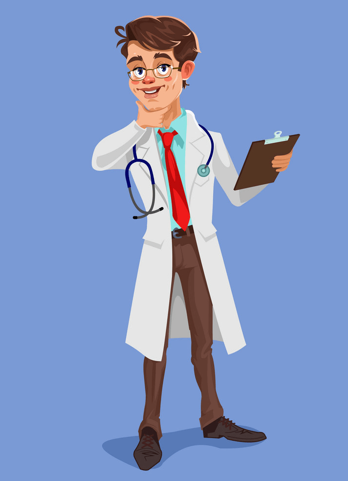 Cool Doctor clipart