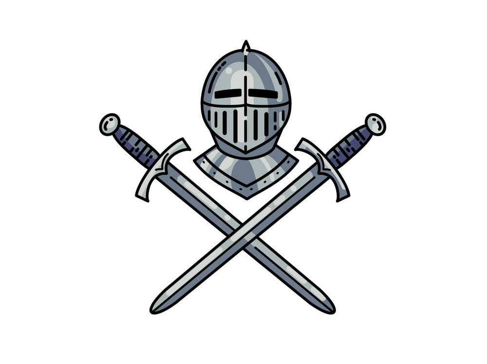 Crossed Swords clipart