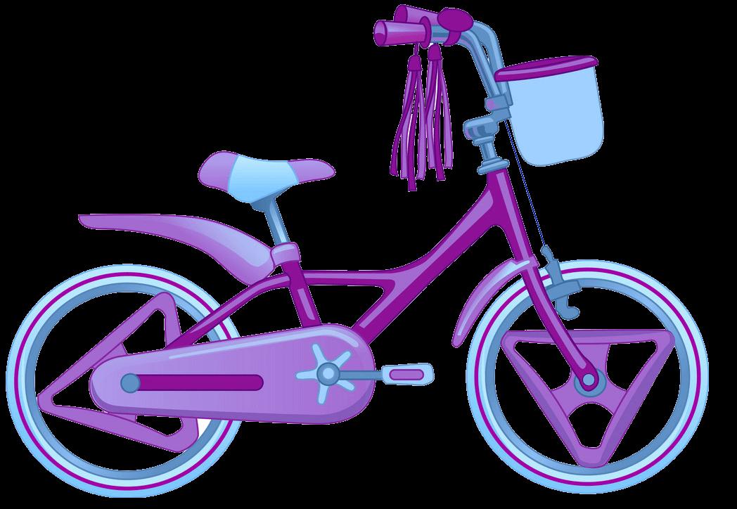 Cute Bike clipart transparent