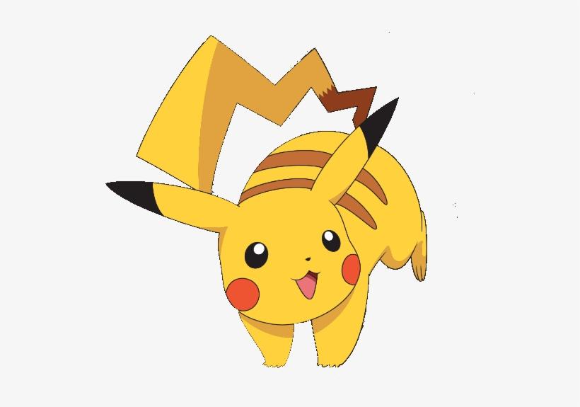 Cute Pikachu clipart