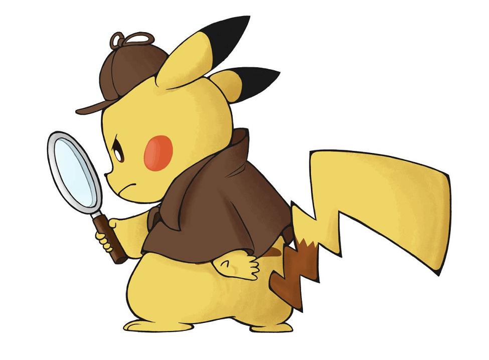 Detective Pikachu clipart 1
