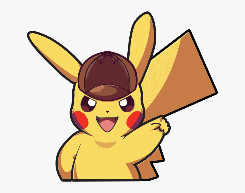 Detective Pikachu clipart
